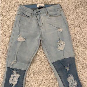 Pacsun 2 tone jeans